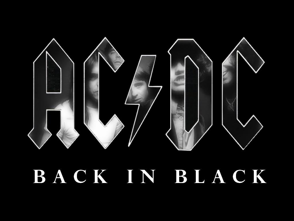 "AC/DC LANZA SU ÁLBUM ""BLACK IN BLACK"""