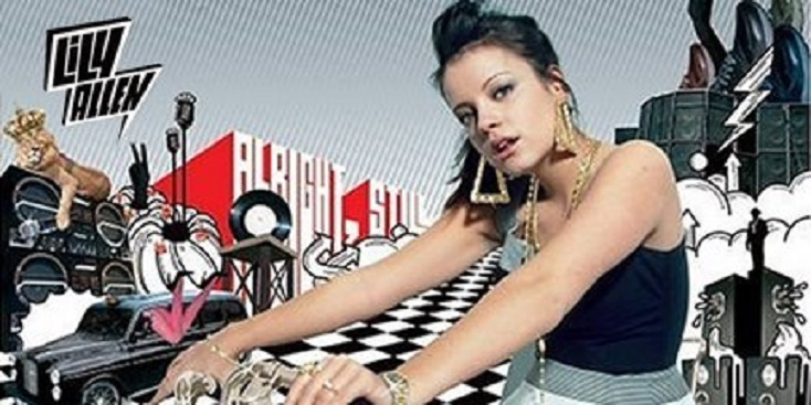 "ÁLBUM DEBUT DE LILY ALLEN, ""ALRIGHT, STILL"""