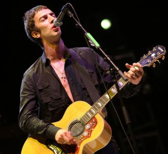 INDIO, CA - APRIL 25:  Singer Richard Ashcroft from the band The Verve performs onstage during day 1 of the Coachella Valley Music and Arts Festival held at the Empire Polo Field on April 25, 2008 in Indio, California.  (Photo by John Shearer/WireImage)