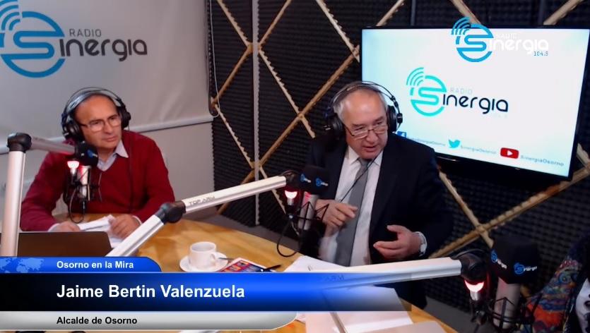 ENTERVISTA A ALCALDE JAIME BERTÍN