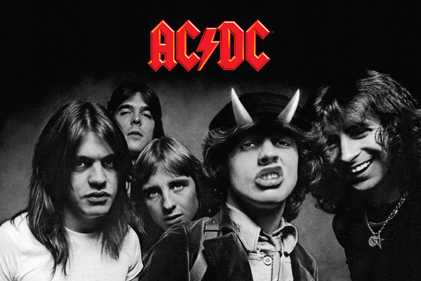 "AC/DC LANZA SU ÁLBUM ""BLACK IN BLACK"""